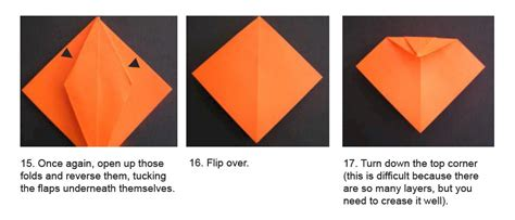 printable origami pumpkin instructions page not found free kids crafts