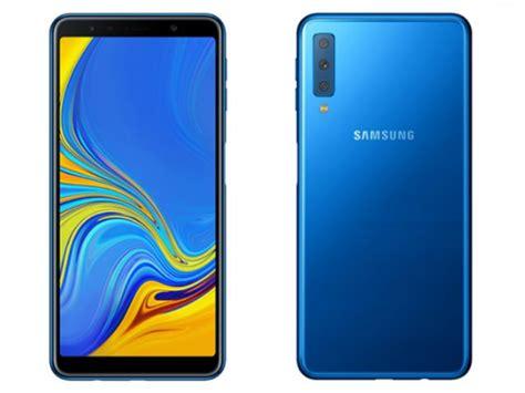 Harga Samsung Galaksi A7 2018 samsung galaxy a7 2018 resmi meluncur smartphone tiga