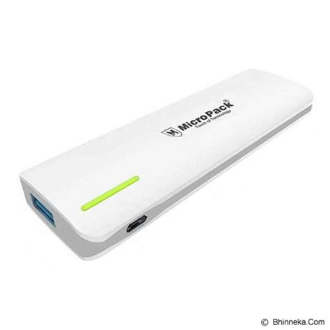 Power Bank Micropack jual micropack powerbank 5000mah p520ps grey murah