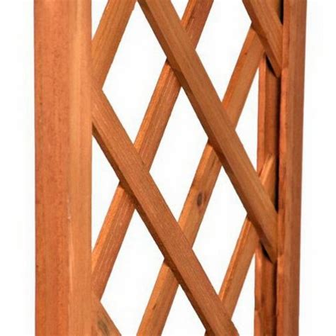arco in legno per giardino arco per ricanti grigliato e fioriere in legno da