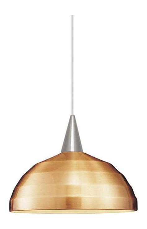 L Shade Pendant by Wac Us Felis Line Voltage L Track Pendant Copper Shade
