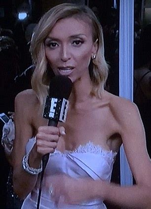e news host giuliana skinny giuliana rancic s scary skinny figure at golden globes