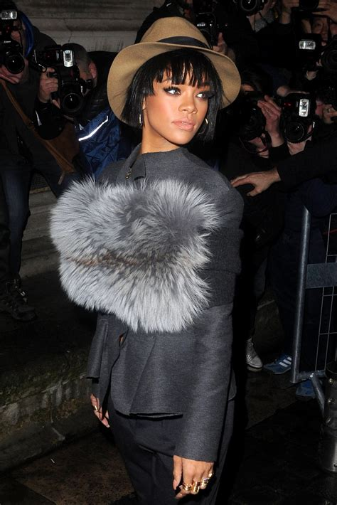 Fashion Week Lanvin Miu Miu by Rihanna S Fashion Week Looks From Balmain To Miu
