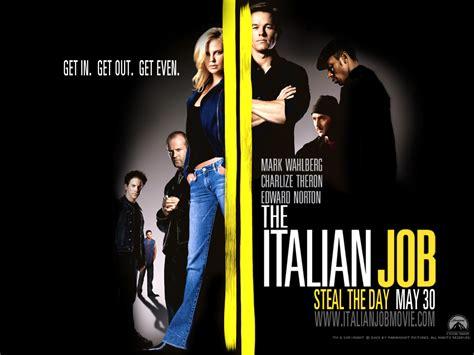 film italian job keeping it reel the italian job and the mini cooper