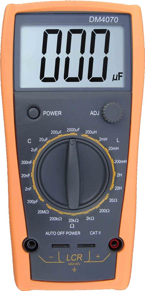 capacitor discharge multimeter aidetek dm4070 3 1 2 lcr meter 20h 2000uf 20mohm self discharge capacitance r ebay