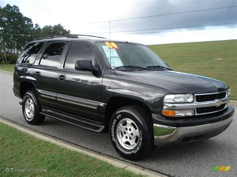 Gray Ls by 2004 Gray Metallic Chevrolet Tahoe Ls 19220075