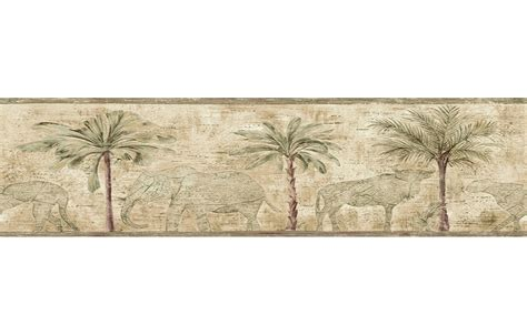 wallpaper borders bathroom ideas green wallpaper borders for bathrooms palm trees