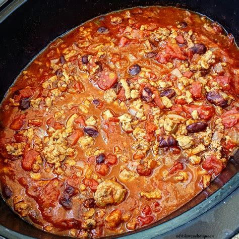 slow cooker chili fit slowcooker queen