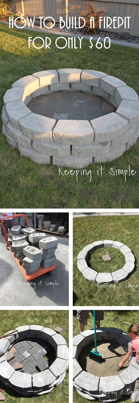ideas for diy pit awesome diy firepit ideas for your yard