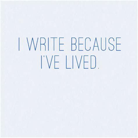 why i write sarahreck