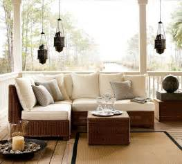 Outdoor garden furniture designs by pottery barn interior design