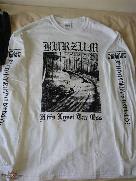 Longsleeve Tara Shirt burzum hvis lyset tar oss white longsleeve 1995 tshirtslayer tshirt and battlejacket gallery