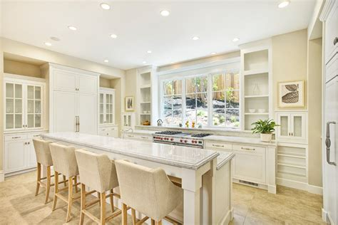 Kitchen With Breakfast Bar Designs glamorous benjamin moore edgecomb gray look san francisco