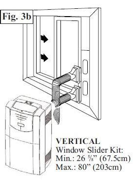 how to install portable air conditioner in awning window portable air conditioners repair service installation nyc