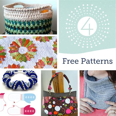 10 free sewing patterns for handmade holiday gifts