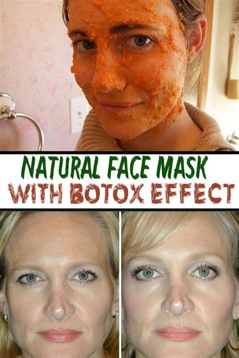Masker Botox mask with botox effect vanilla slice masks and