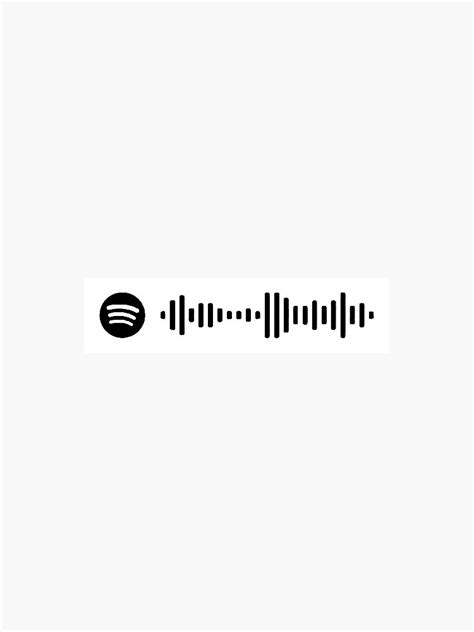 """rick roll spotify code"" Sticker by vxyg | Redbubble"