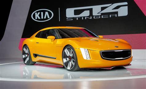 Kia Gt4 Stinger Concept Price Car And Driver