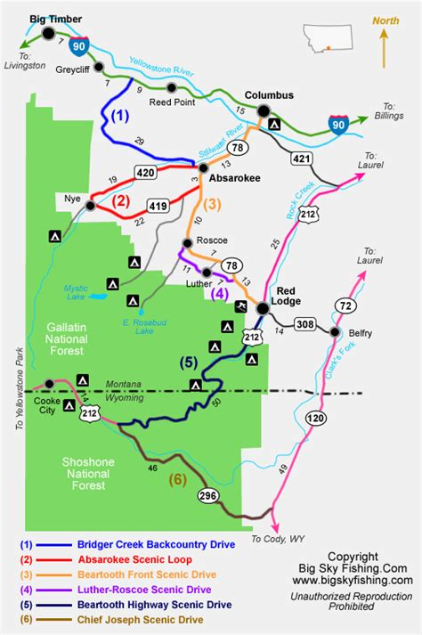 beartooth highway map beartooth highway map travelsfinders