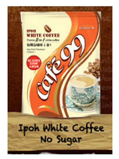 White Coffee 1 Pack charcoal roasted 2 in 1 white coffee no sugar