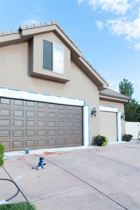 What Paint To Use On Garage Door How To Paint Garage Doors And Add Curb Appeal To Your Home