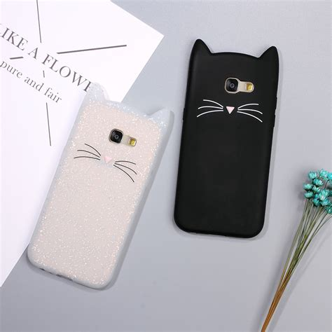 Casing 3d Print Samsung Galaxy A3 A5 2017 Louis Vuitton Logo X4 3d bearded cat inspired cases for samsung galaxy a5 a3 2017 2016