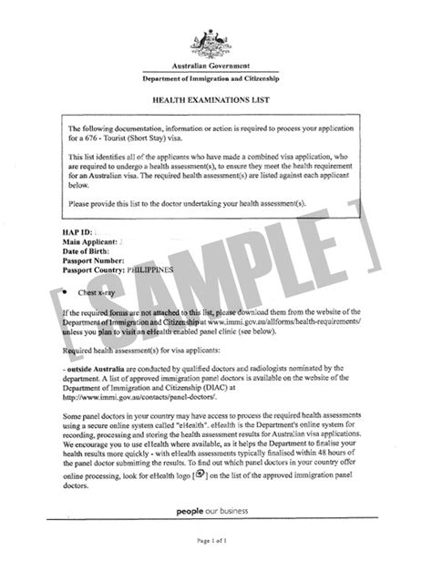 Australian Embassy Letter Application Letter Exles Australia