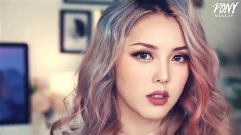 tutorial makeup korea youtube korean make up tutorial sexy party look youtube