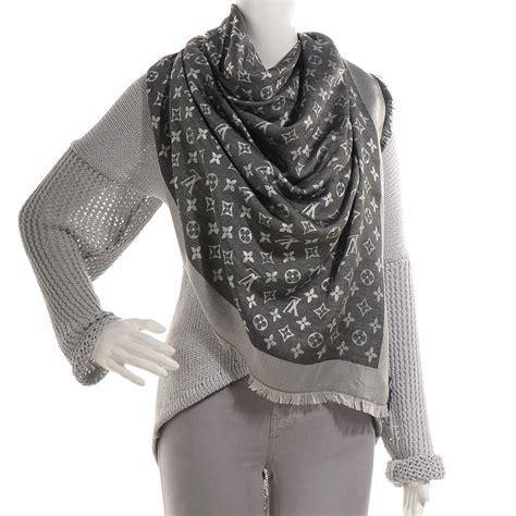 Pashmina Denim Umama Scarf louis vuitton silk wool monogram denim shawl black 69641 louis vuitton black shawl your