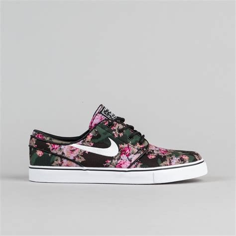 flower pattern nike shoes nike sb stefan janoski digi floral shoes multi colour