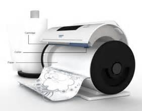 Roller Printer roller paper printer yanko design