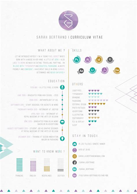Best Resume You Have Ever Seen by 40 Creative Cv Resume Designs Inspiration 2014 Web Amp Graphic Design Bashooka