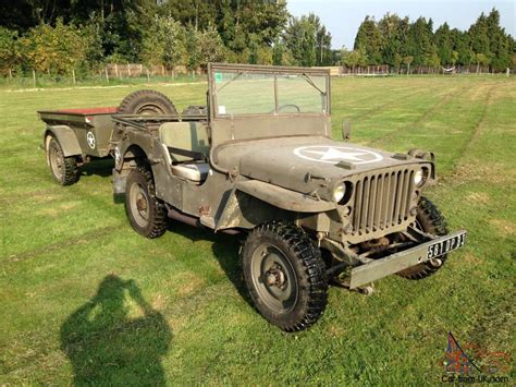 1942 Jeep For Sale 1942 M B Willys Jeep