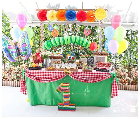 A Very Hungry Caterpillar  Ee  Birthday Ee    Ee  Party Ee   Lour It Sweet