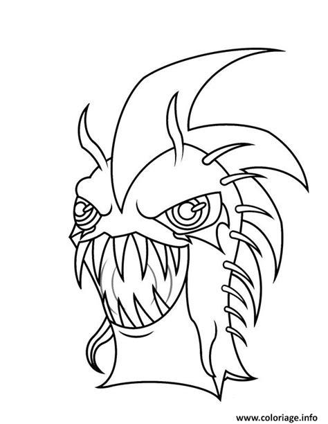 slugterra gun coloring page coloriage slugterra dark urchin dessin
