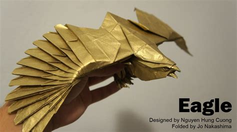 How To Make Paper Eagle - origami malaysia