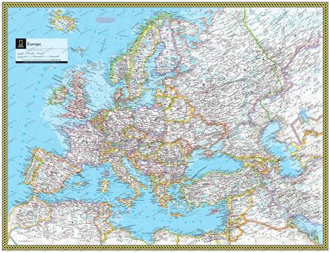 map geo national geographic map europe thefreebiedepot