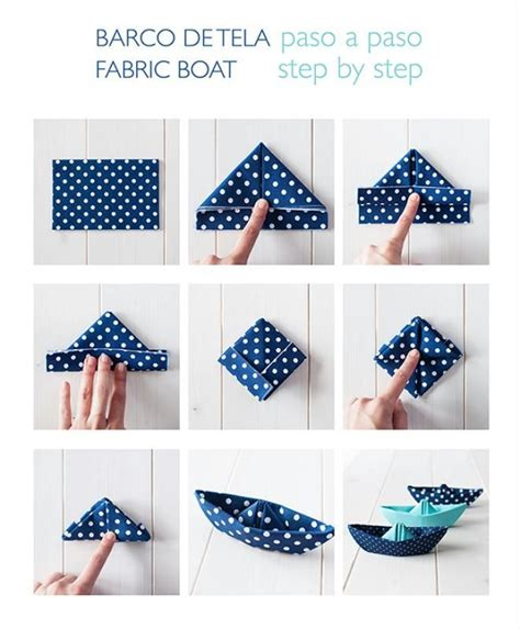 how to make a paper napkin boat best 25 origami boat ideas that you will like on