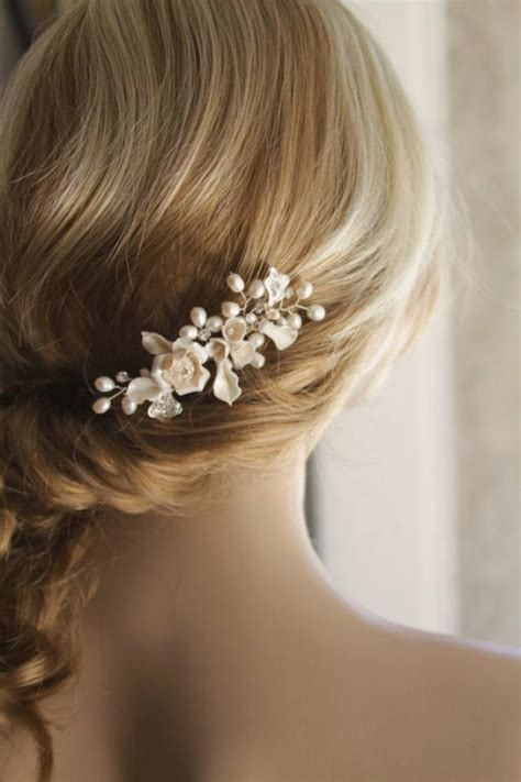 Wedding Hair Accessories Ivory by Bridal Hair Comb Wedding Hair Comb Bridal Hair