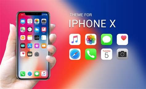 x app for android theme for new iphone x hd ios 11 skin themes android apps on play