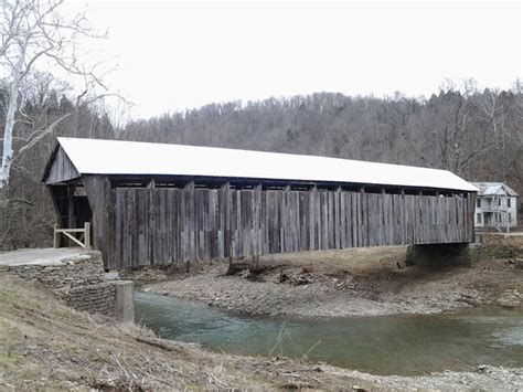 cabin creek cabin creek bridge in tollesboro kentucky