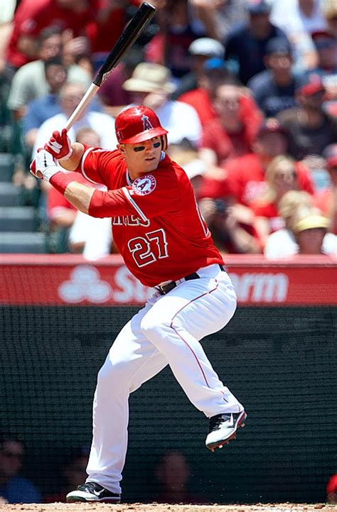 mike trout baseball swing mike trout vs bryce harper the undeniable truth mlb