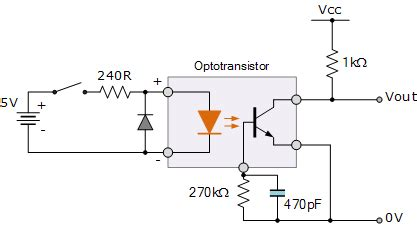 current limiting resistor optocoupler optocoupler tutorial and optocoupler application