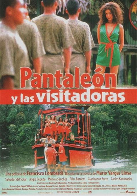 libro captain pantoja and the pantaleon y las visitadoras new dvd dnturbabit