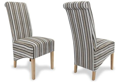Dining Chairs Glamorous Striped Dining Chair Striped Striped Dining Chair