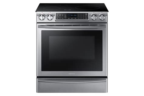 samsung induction range samsung ne58k9560ws aa 5 8 cu ft slide in induction range w stainless shop