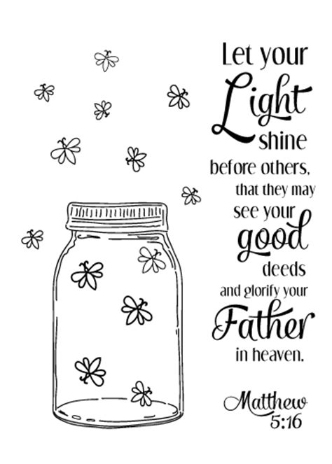The Brightest Lights In Orlando Courtney Defeo Let Your Light Shine Coloring Page