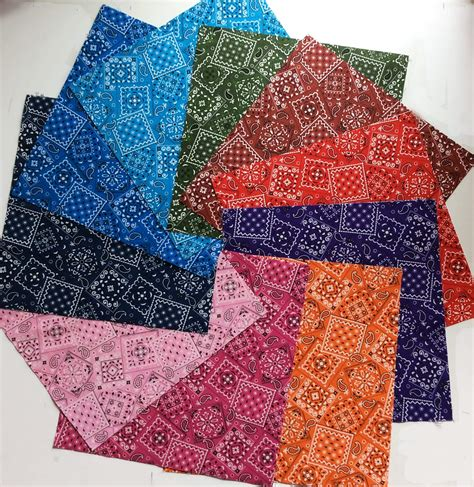How To Cut Quilt Squares by 10 Quot Inch Layer Cake Bandana Colors 20 Pre Cut Quilt