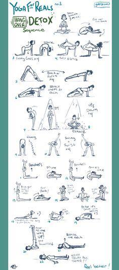 Iyengar Detox Sequence by Iyengar Home Practice에 대한 이미지 검색결과 Flows