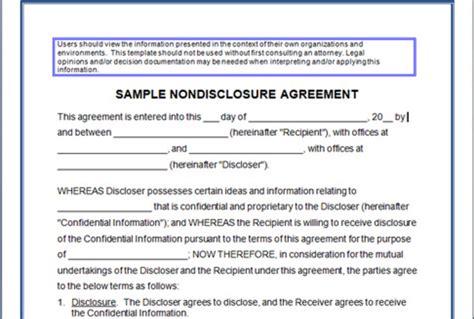 consultant non disclosure agreement template confidentiality agreement form confidentiality agreement